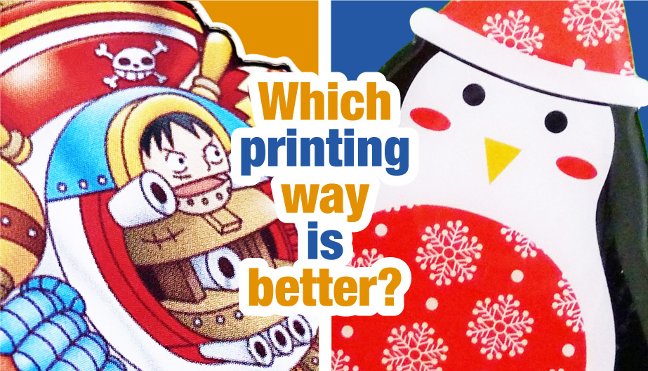 silkscreen printing and offset printing