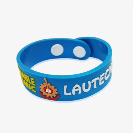 2D soft PVC bracelet-2