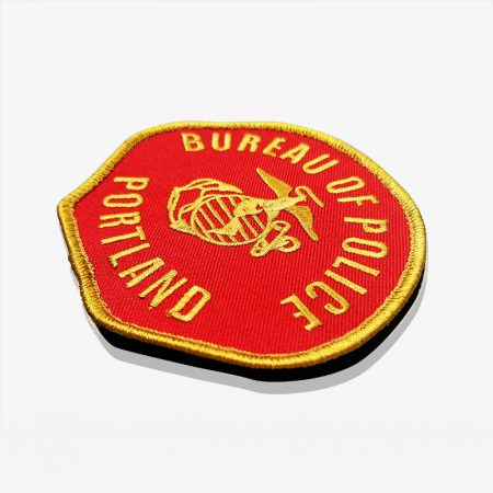Embroidery Patch Back Velcro