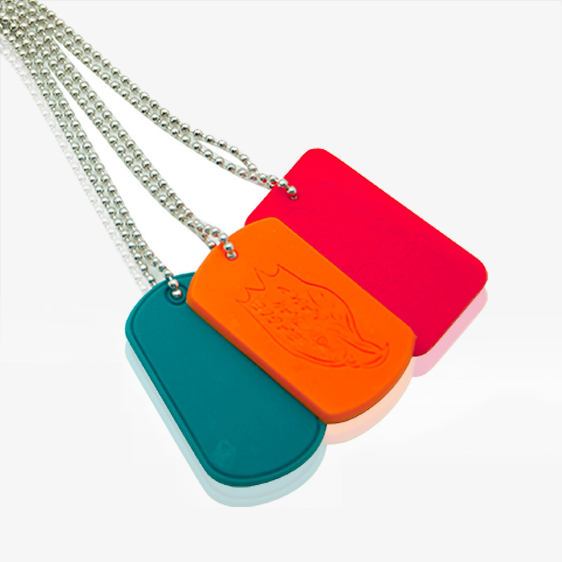 Rubber Dog Tag