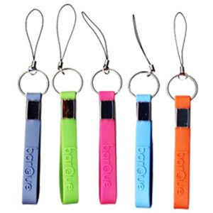 Silicone Keyring with cell phone string