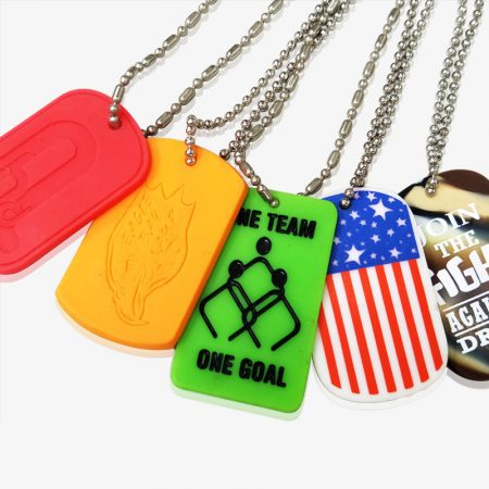 Silicone Military Dog Tag