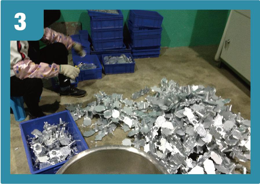 zinc alloy-elimination