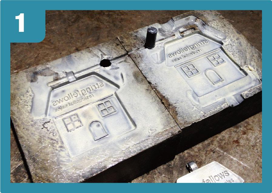 zinc alloy moulding