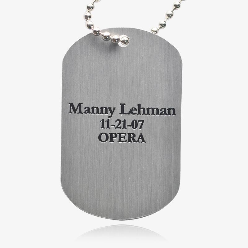 custom military dog tags