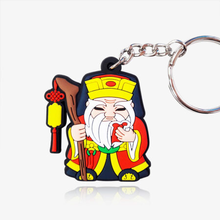 rubber keychain custom