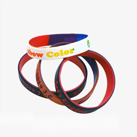 cheap custom rubber bracelets