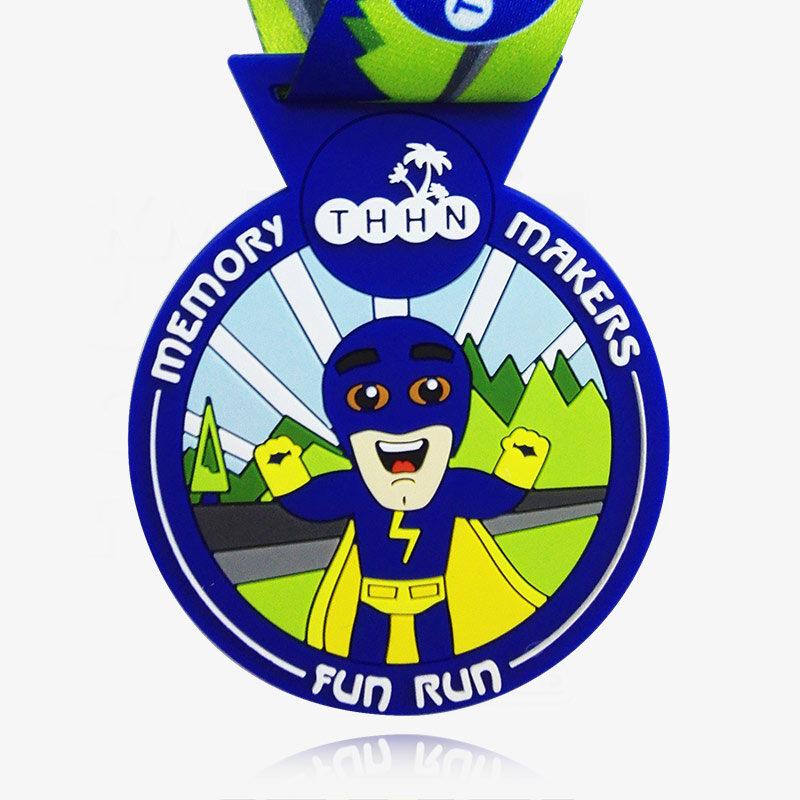 soft pvc medal