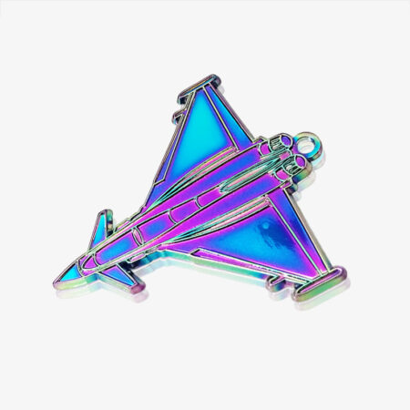 rainbow metal enamel pin-1
