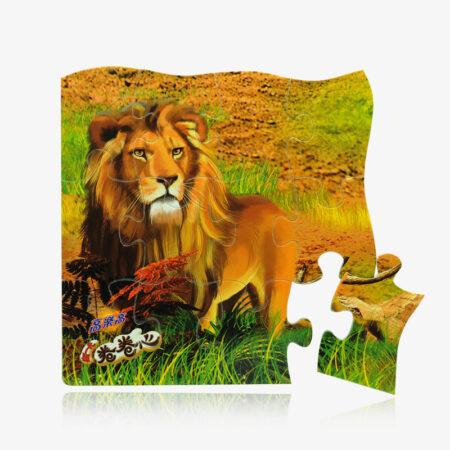 custom printing puzzle magnet-1