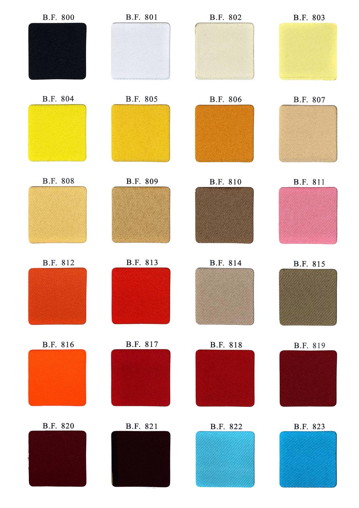 twill fabric color