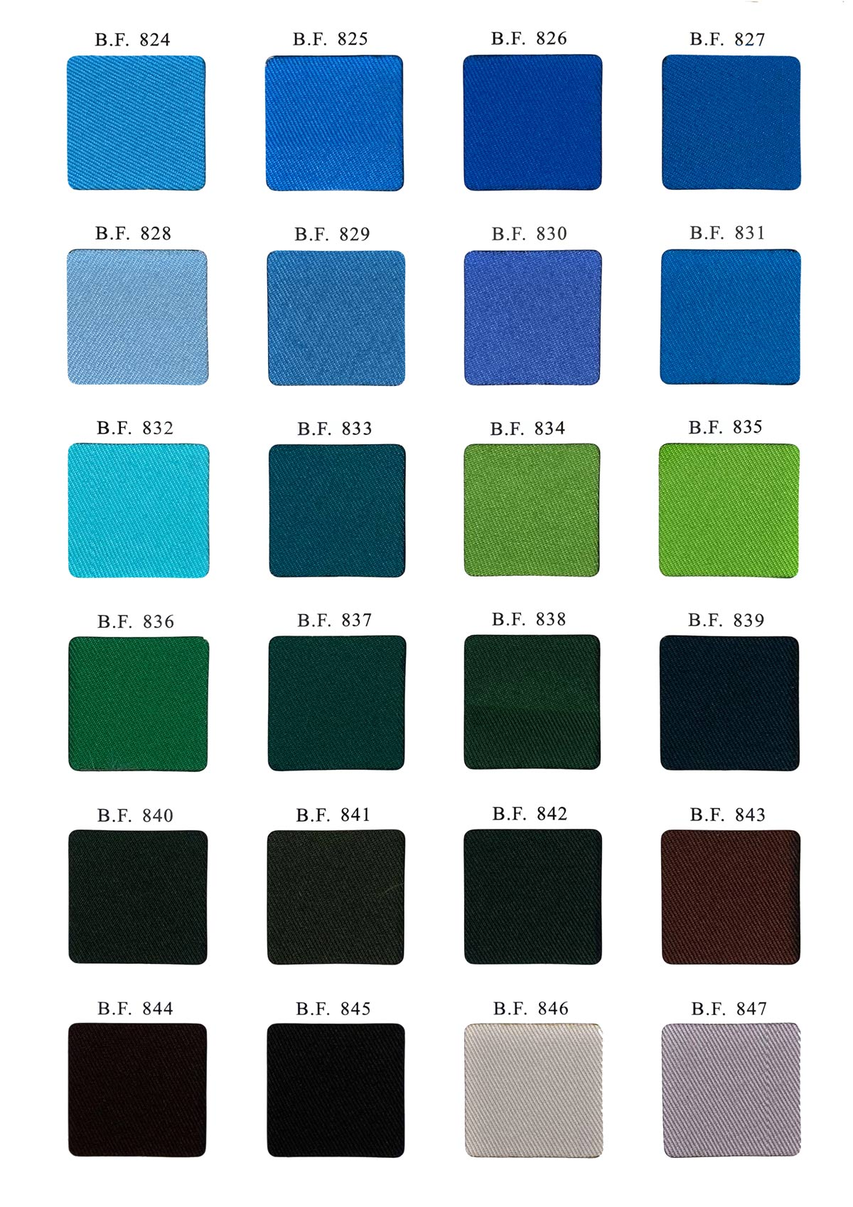 twill fabric color-2