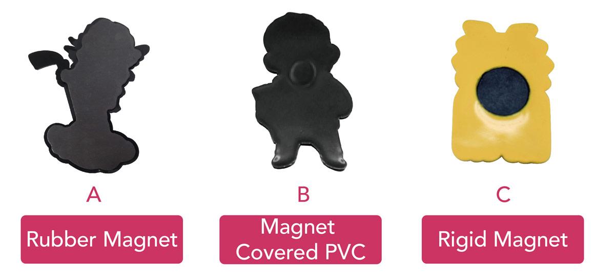 magnet back side option