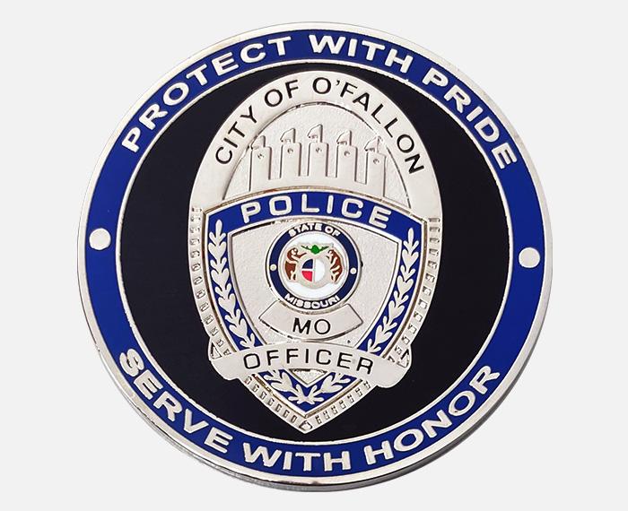police coin