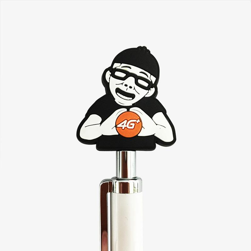 soft PVC pen topper