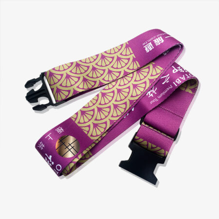 luggage belt with printing logo-1