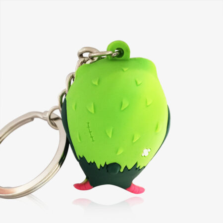 rubber key ring-1