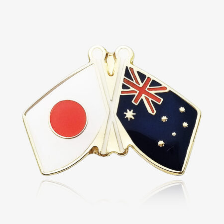 custom flag pin