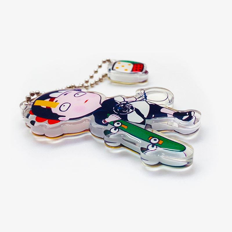 acrylic printed keychain-2