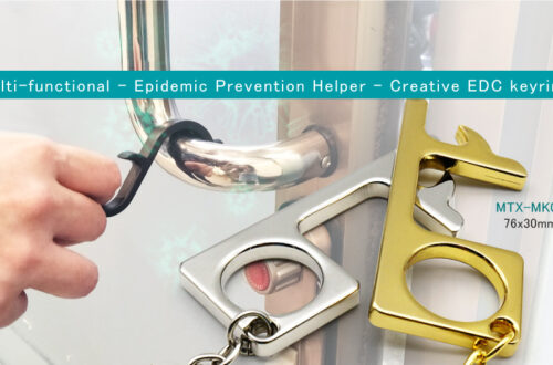Epidemic Prevention Helper – Creative EDC keyring