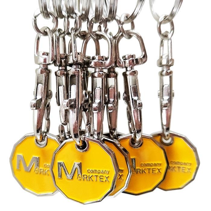 Trolley Coin Keychain-1