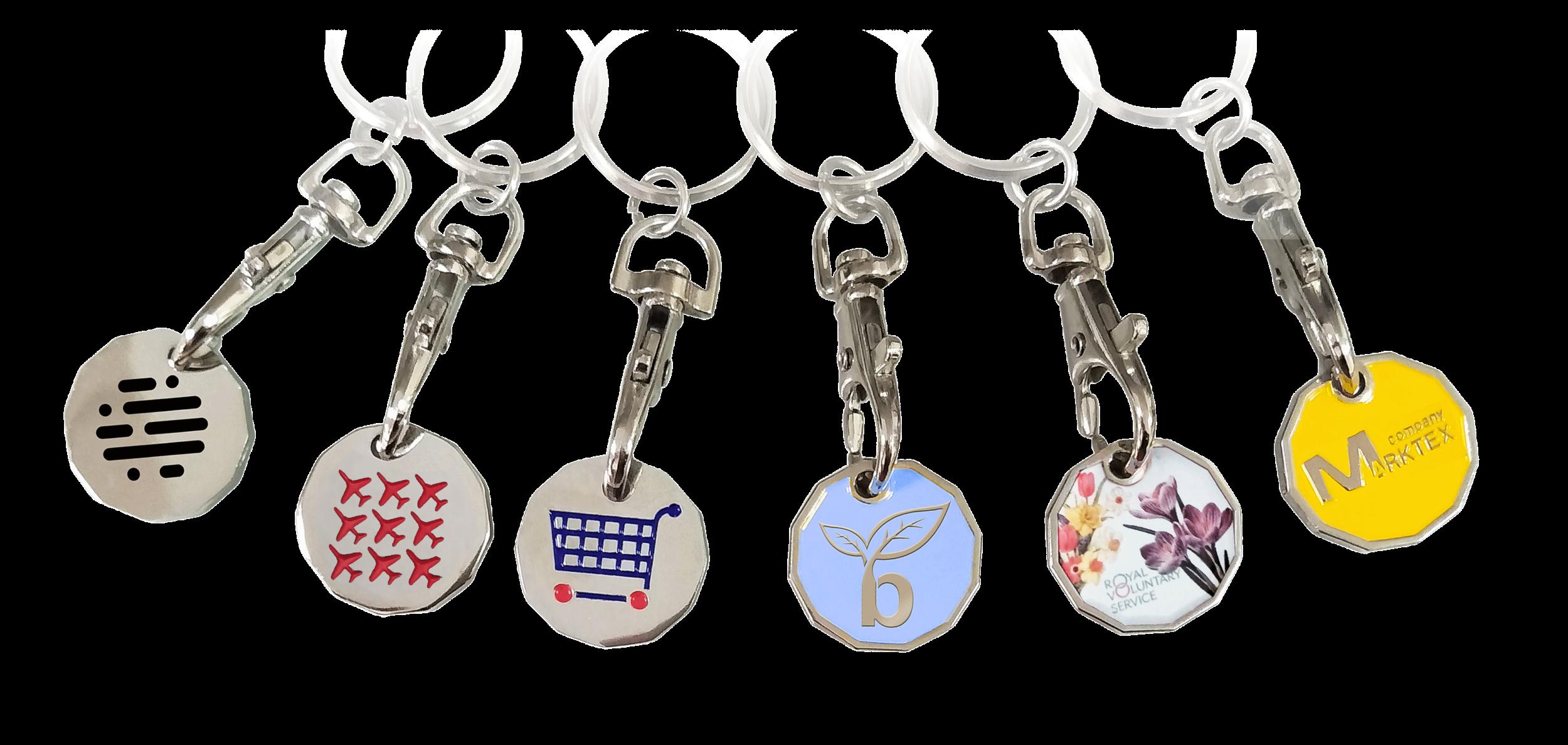 trolley coin keychain-2