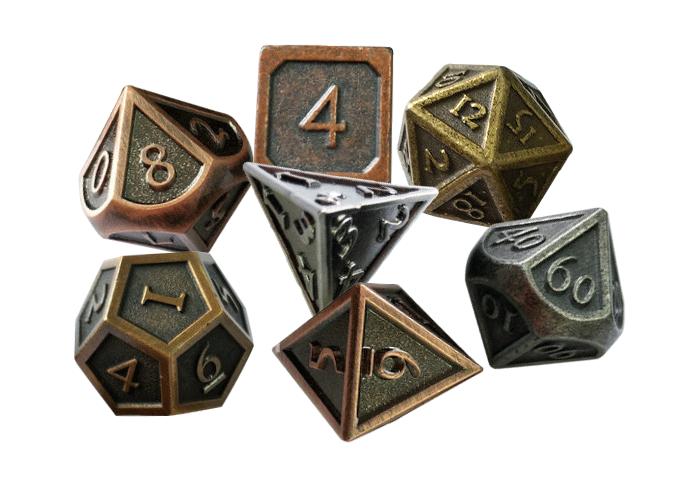 Polyhedral Metal Dice