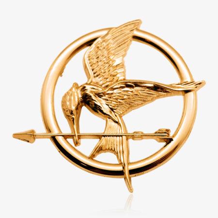 3D bird pin