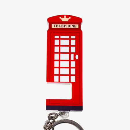 Bespoke Acrylic Cell Phone Stand Keyring