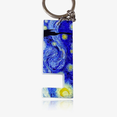 Bespoke-Acrylic-cell-phone-stand-keyring-3