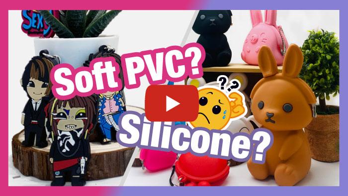 Silicone vs Soft PVC
